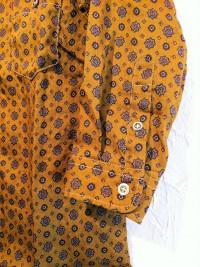 modemdesign | リネンクロスプリントシャツ