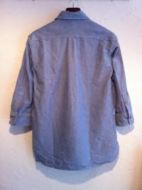 modemdesign | ショールカラー七分袖プルオーバーシャツ