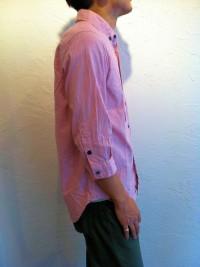 modemdesign | BDマルチボタン七分袖シャツ