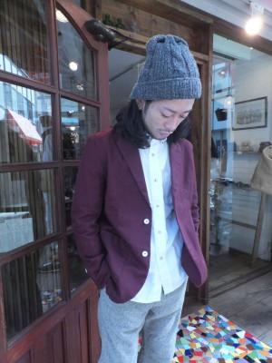 秋のジャケットスタイル