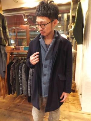 暖かいコート