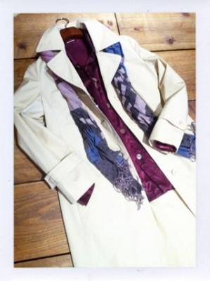 USED euro trench coat