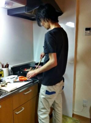 男の手料理