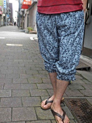 Mellow Pantsスタイル