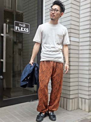 Mellow Pantsスタイル②