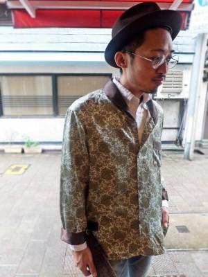 パジャマシャツスタイル