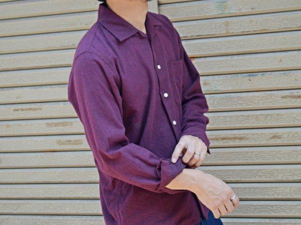 スピナーベイトのオープンカラーシャツ!
