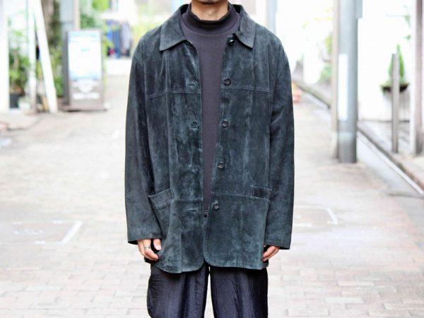 USEDのスウェードジャケット