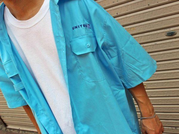 ビッグワークシャツ