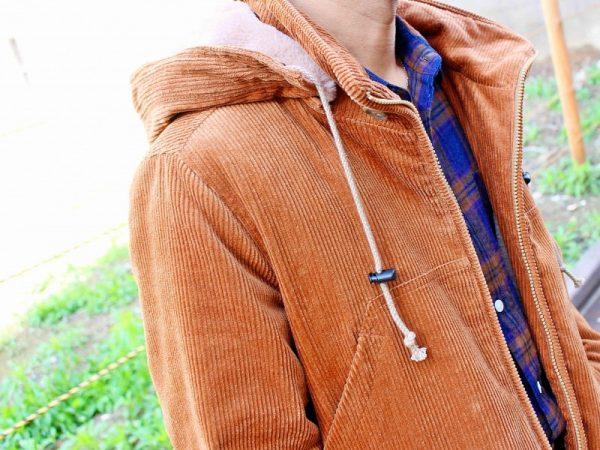 Nasngwam.のコーデュロイジャケット