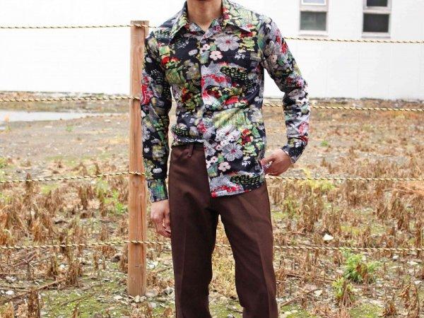 70sレトロシャツ