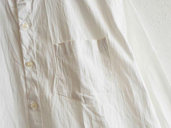 SHARKEY'Sのスタンドカラーシャツ