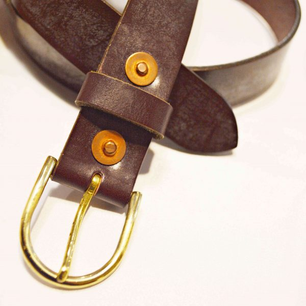 saranamのLEATHER BELT②