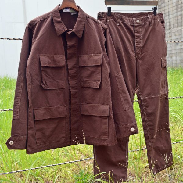 OVER DYE BDU JKT&PANTS