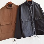 """AXESQUIN""のNYLON FIELD JKT"