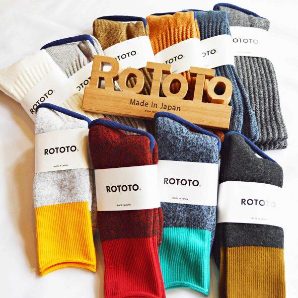 ROTOTOの冬ソックス