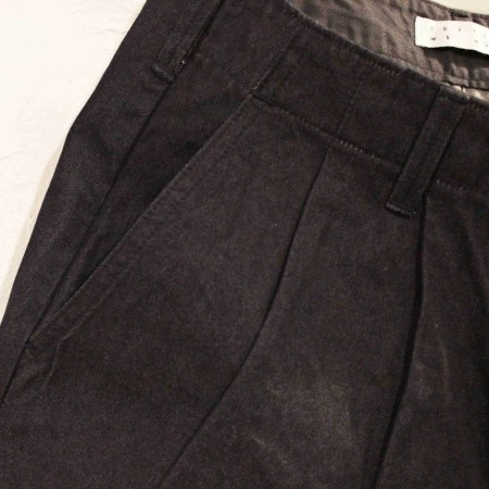 WIDE TUCK TROUSERS